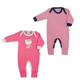 Kit 2 Pijamas Longo com Pé Reversível
