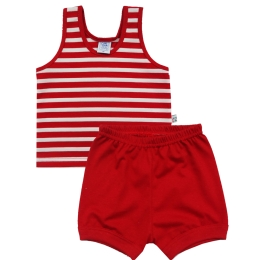 Conjunto Camiseta Regata e Shorts
